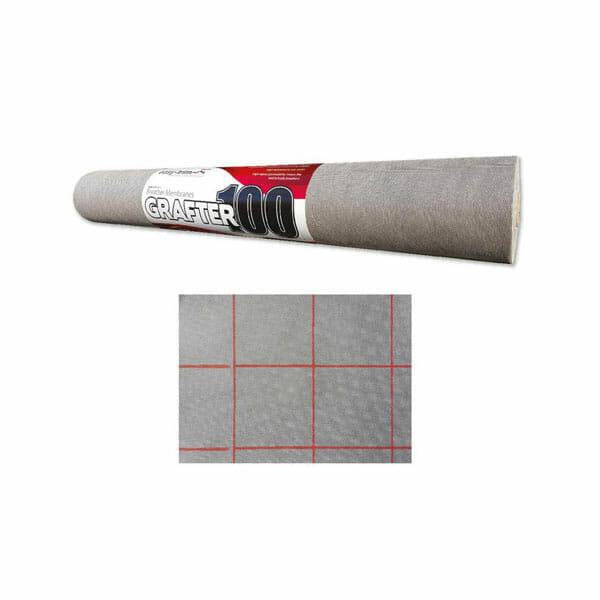 Easy Trim Grafter Breather Felt Membrane 99gsm 1m X 50m