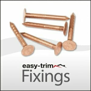 Easy Fix 30 x 2.65 Copper Clout Nail 1KG