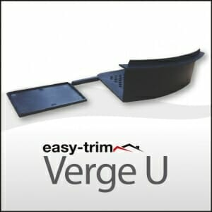 Easy-Trim Verge U Starter & End Cap