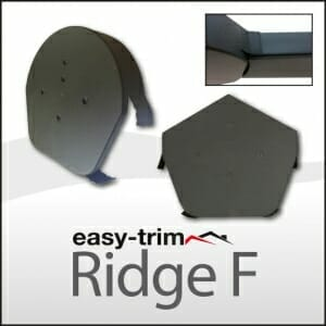 Ridge Caps with Flap Cap Technology