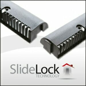 Easy-Trim Slide & Lock Fascia Vent Strip 10mm