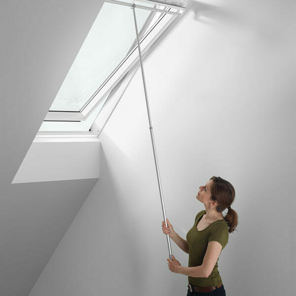 Velux zct 200k telescopic pole rod control 100 180cm for for Velux skylight control rod