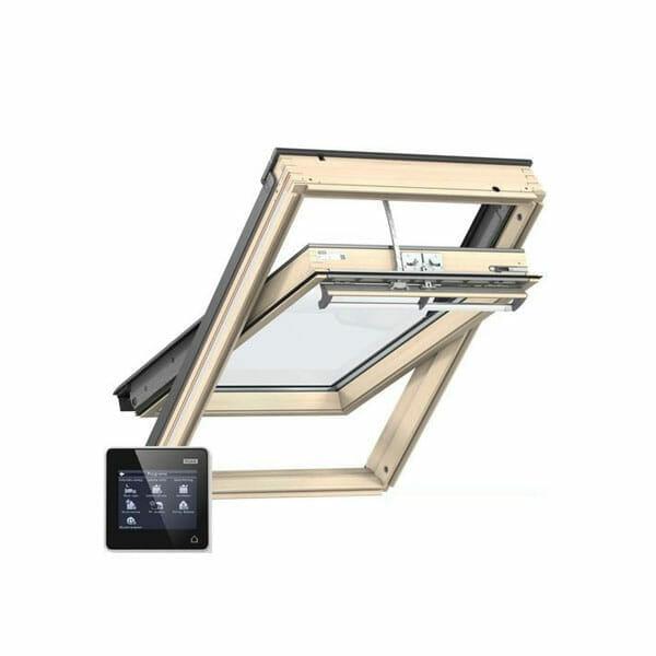 velux integra ggl mk08 307021u pine centre pivot window 78cm x 140cm roofin online store. Black Bedroom Furniture Sets. Home Design Ideas