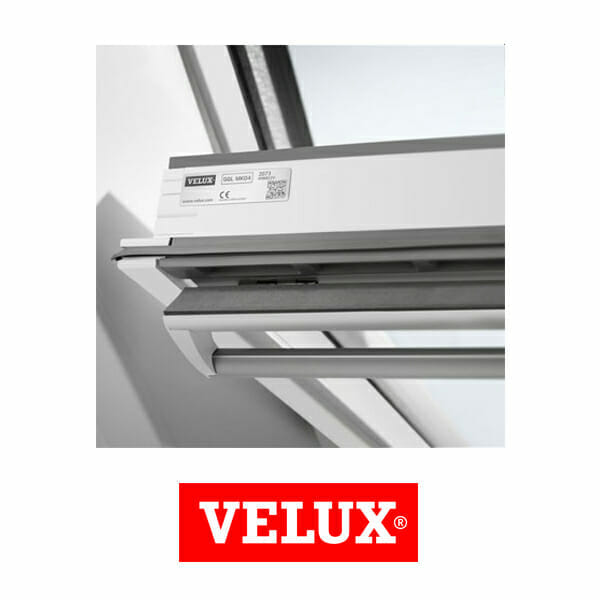 velux ggu mk04 0070 white polyurethane centre pivot window. Black Bedroom Furniture Sets. Home Design Ideas