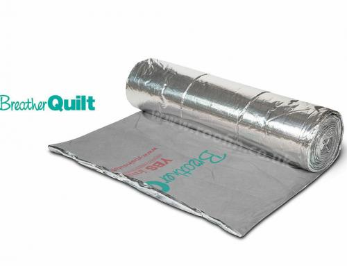 YBS BreatherQuilt, perfect for pitched roof applications…