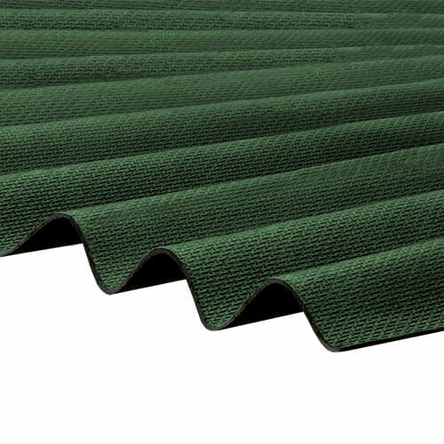 CORRAPOL-BT Corrugated Bitumen Sheet - Green - 930mm x 2000mm