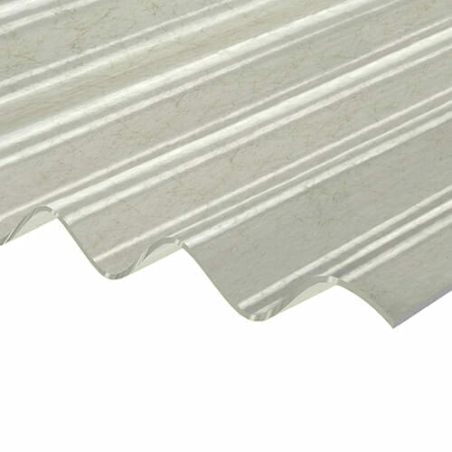 CORRAPOL-GRP Corrugated Sheet - Translucent - 950mm x 2000mm