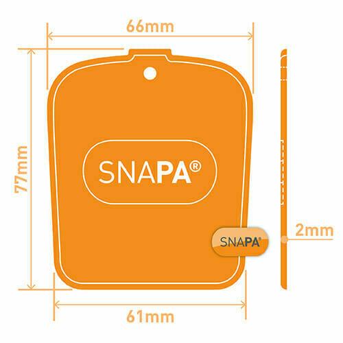 Snapa Bar Endcap White