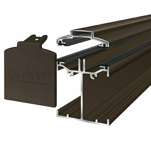 Alukap-SS Low Profile Bar 3.0m Brown