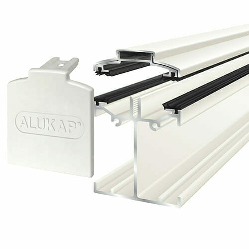 Alukap-SS Low Profile Bar 3.0m White