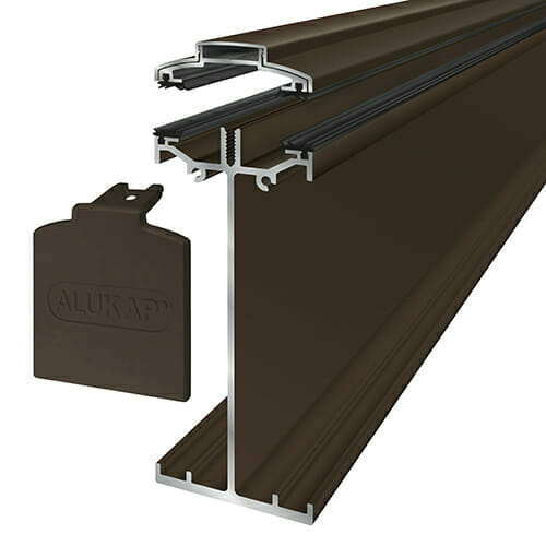 Alukap-SS High Span Bar 6.0m Brown