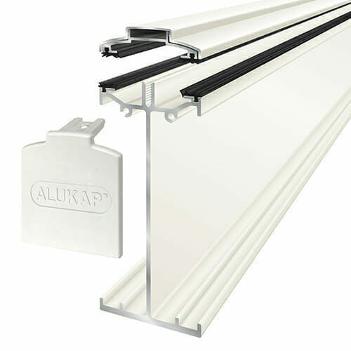 Alukap-SS High Span Bar 6.0m White