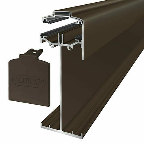 Alukap-SS High Span Gable Bar 6.0m Brown
