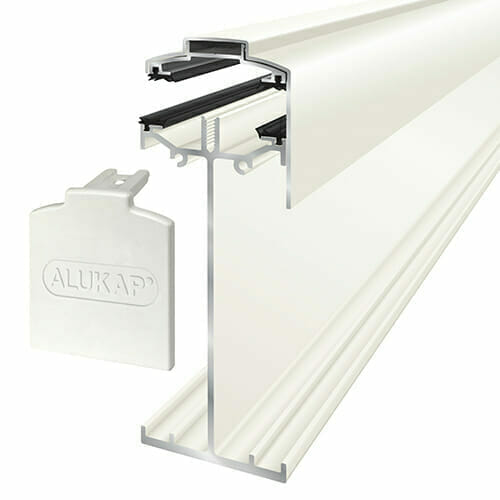 Alukap-SS High Span Gable Bar 6.0m White