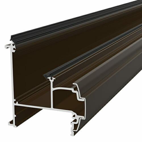 Alukap-SS Wall & Eaves Beam 4.8m Brown
