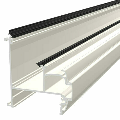 Alukap-SS Wall & Eaves Beam 4.8m White