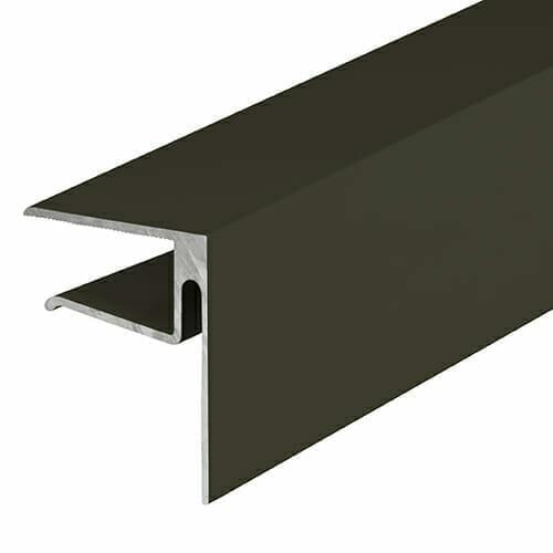 Alukap-XR 16mmEnd Stop Bar 3.6m Brown