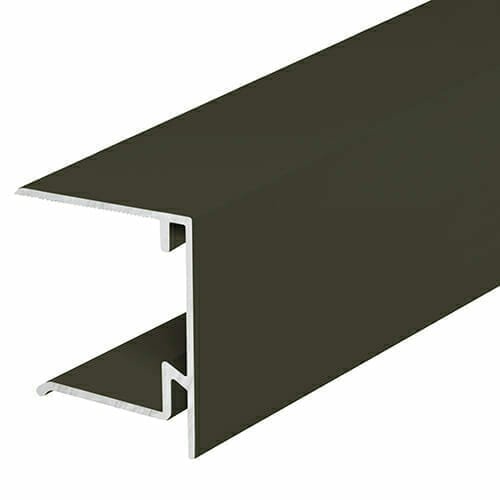 Alukap-XR 35mm End Stop Bar 3m Brown