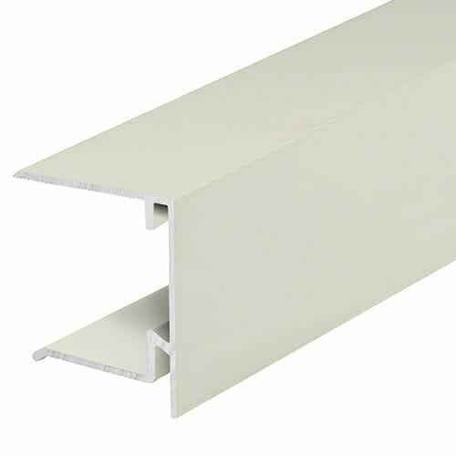 Alukap-XR 35mm End Stop Bar 4.8m White