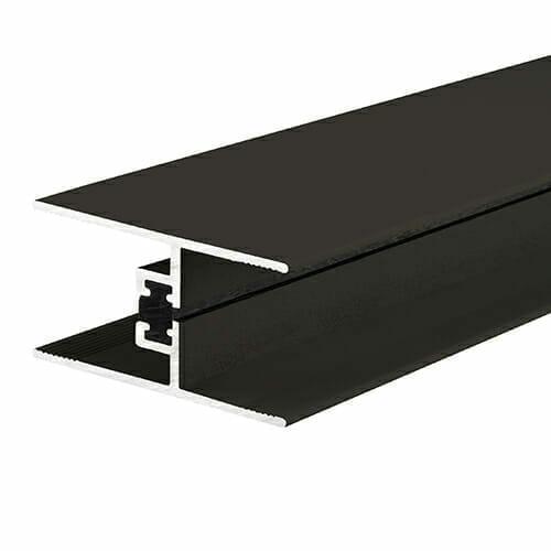 Alukap-XR 24/25mm horizontal glazing bar 2.1m brown