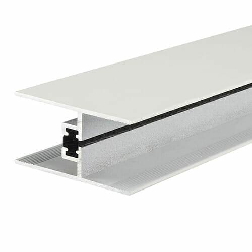Alukap-XR 24/25mm horizontal glazing bar 2.1m white