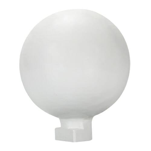Alukap-XR 150mm Ball Finial White