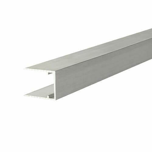 Alukap-XR 16mm Aluminium C Section 4m