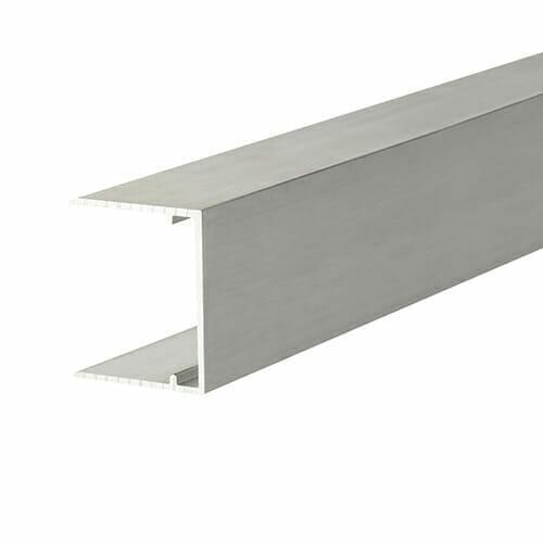 Alukap-XR 32mm Aluminium C Section 4m