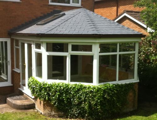 Choosing plastic tiles for your conservatory roof project…